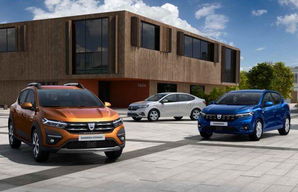 Dacia Sandero и Logan: Трета генерација (фото галерија)