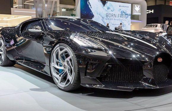 Bugatti La Voiture Noire (видео)