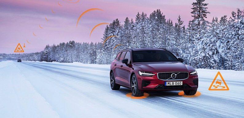 Volvo има систем за рано предупредување од опасност