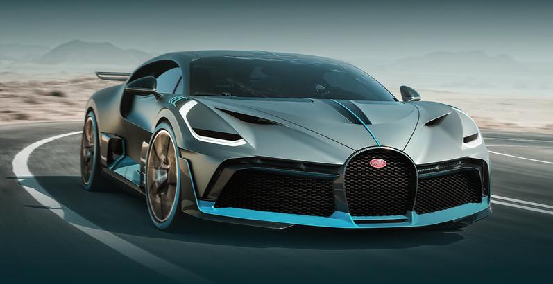 Bugatti Divo (видео)