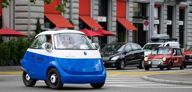 Microlino: Не е автомобил, ама е! (видео)