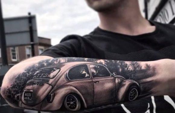 Возачите на VW најмногу ги тетовираат своите возила на себе (видео)