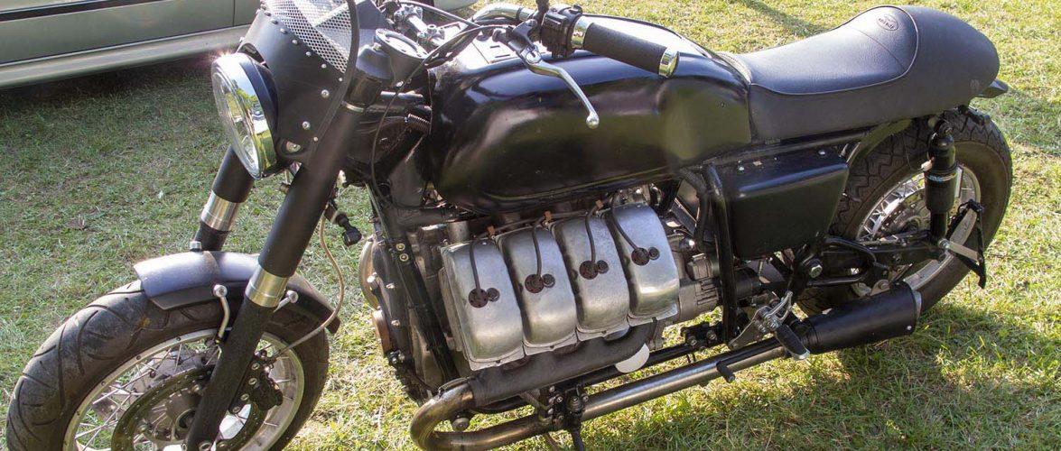 Moto Guzzi со V8 мотор од Tatra (видео)