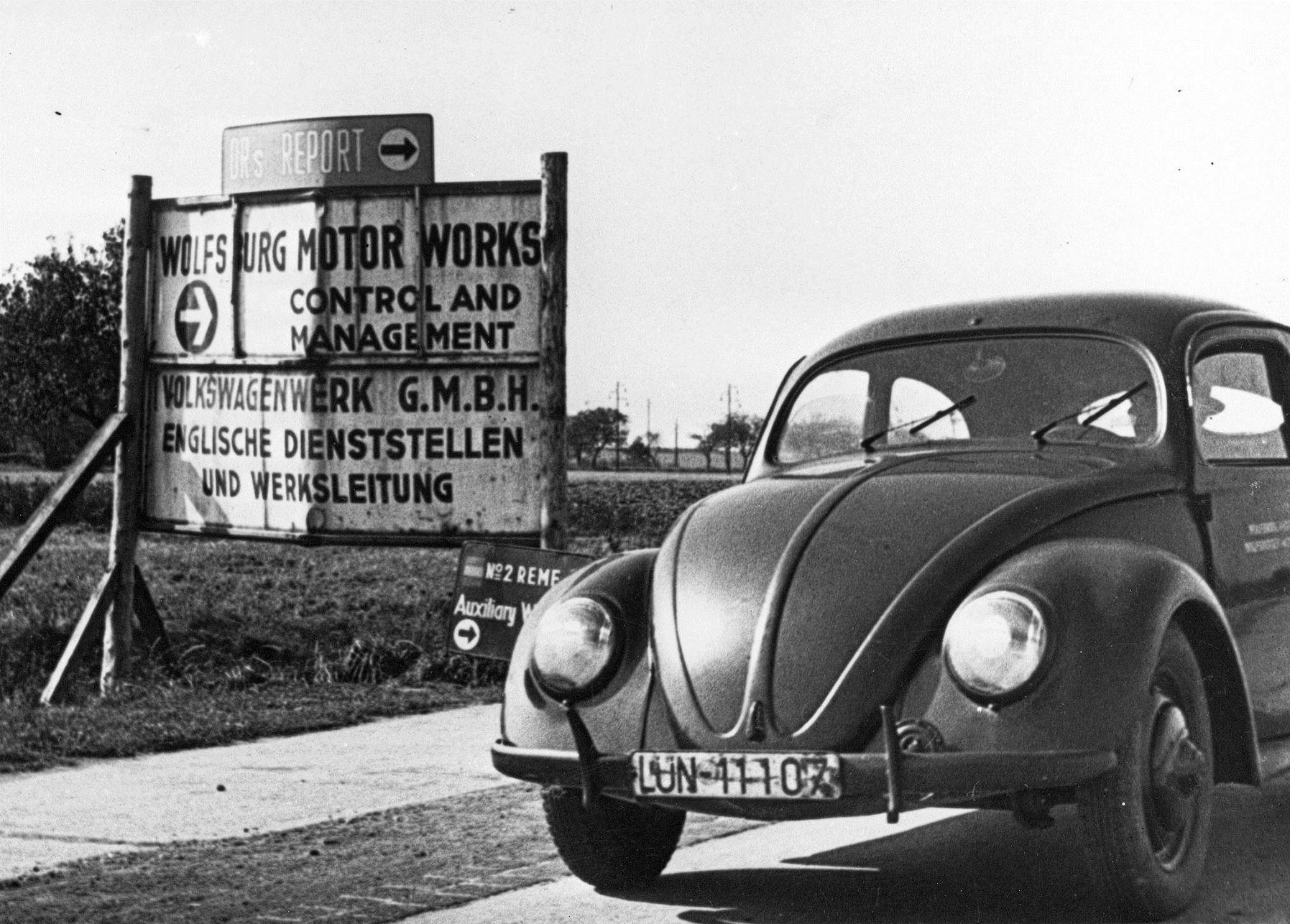 Volkswagen Буба слави 75 години