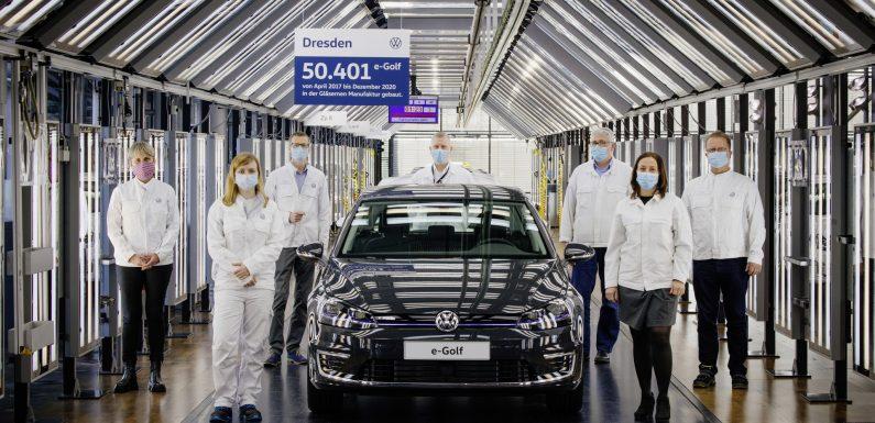 Произведен последниот Volkswagen e-Golf (видео)