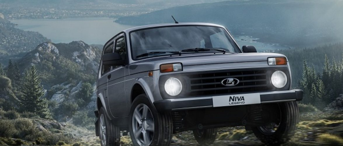 Lada Niva стана Niva Legend