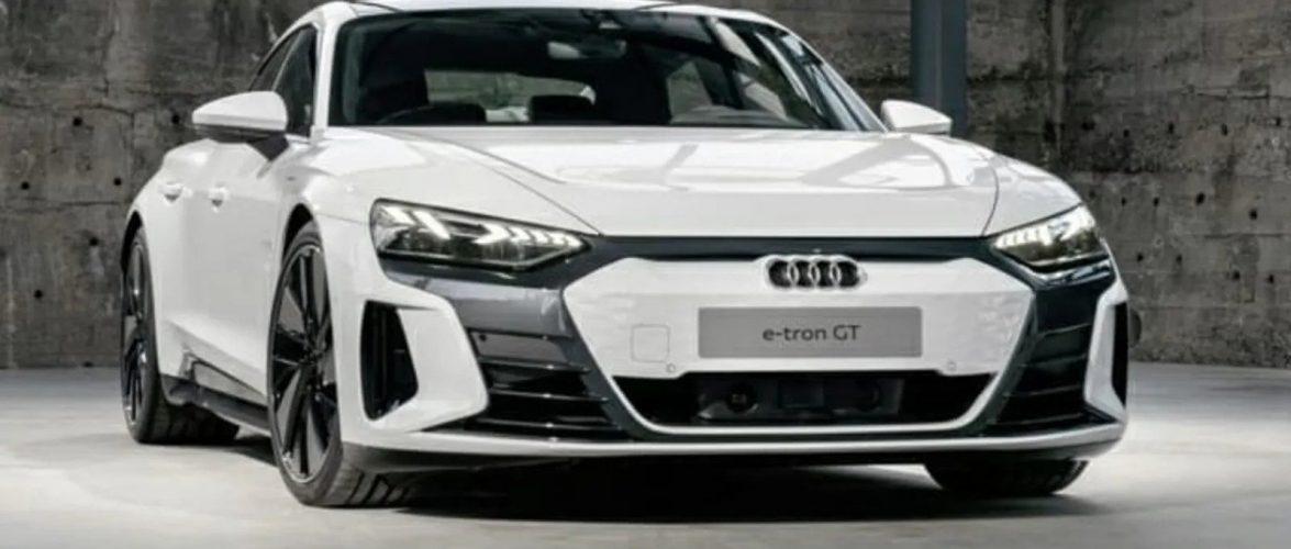 Audi e-Tron GT осамна пред време