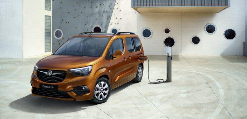Електричен Opel Combo-e Life