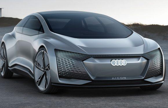 Audi A9 е-Tron