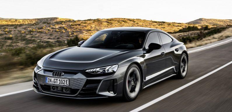 Сега и официјално: Audi e-Tron GT (видео)