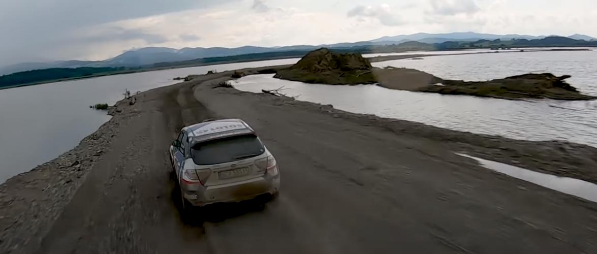 WRC против дрон (видео)