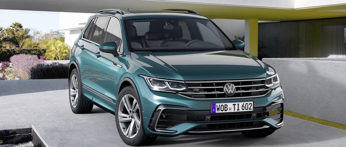 Новото лице на Volkswagen Tiguan
