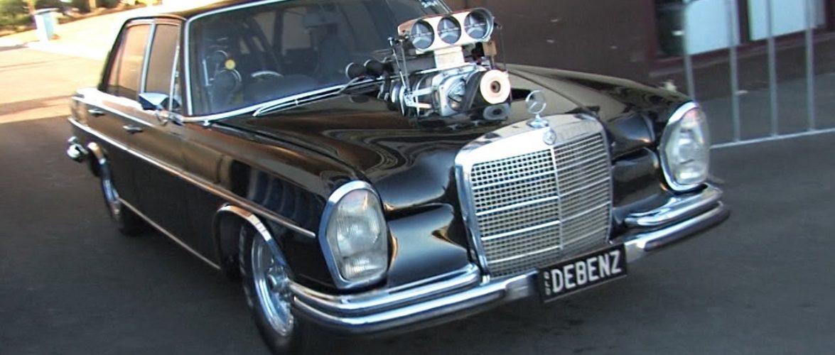 Луд Mercedes од Австралија (видео)