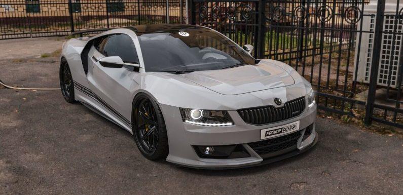 Octavia Supersport – Провокативен предлог за Škoda (фото галерија)