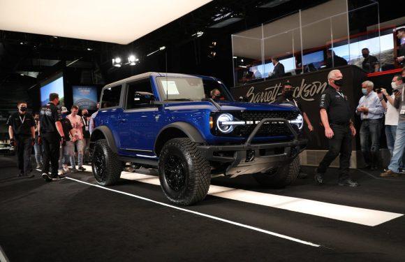 Првиот Ford Bronco продаден за милион долари поскапо