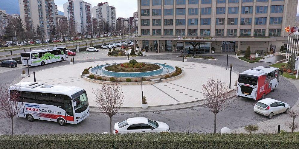 Isuzu Euro-Tour 2021 во Македонија