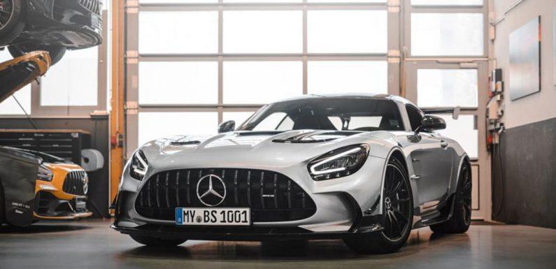 Opus Mercedes-AMG GT Black Series (видео)