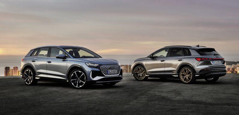 Audi Q4 e-Tron и e-Tron Sportback (2*видео)
