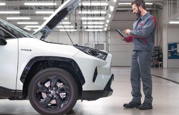 Toyota воведува 10-годишна гаранција