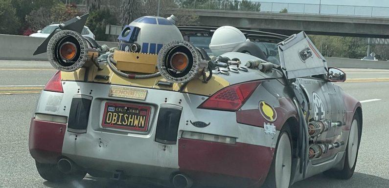 Nissan како излезен од војна на ѕвездите (видео)
