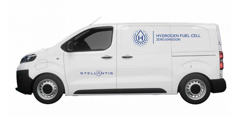 Доставните возила на Stellantis со погон на водород