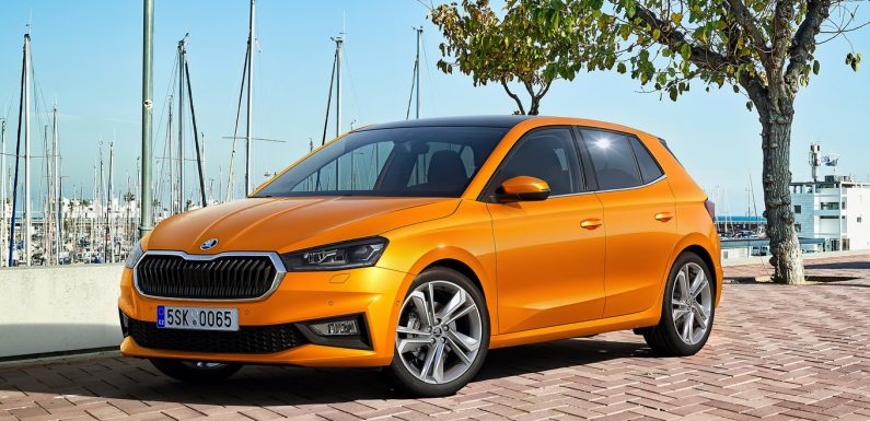 Škoda Fabia и официјално (2*видео)