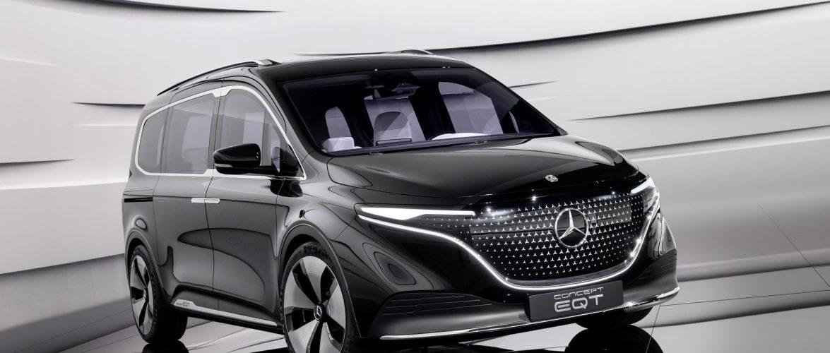 Mercedes EQT (видео)