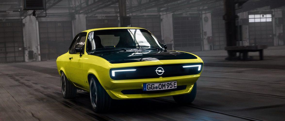 Opel ја воскресна Manta (видео)
