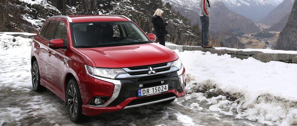 Mitsubishi на маки во Норвешка