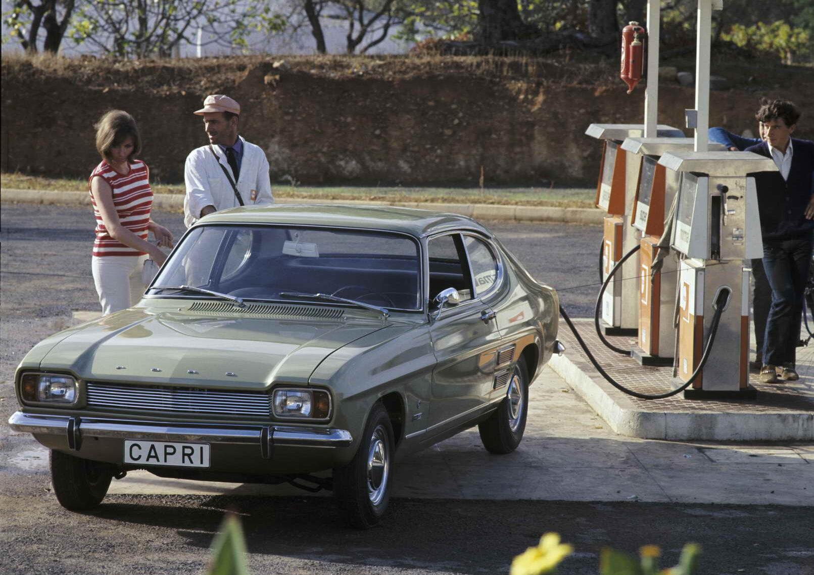 Историја: Ford Capri (1968-1986) – 108 фотографии + 3 видеа
