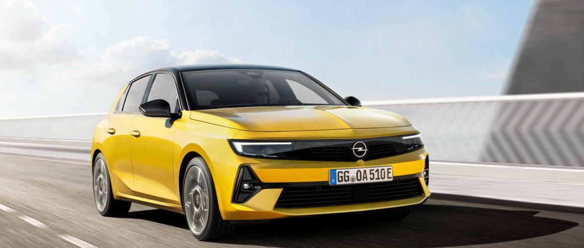 Новата Opel Astra (фото-галерија, видео)