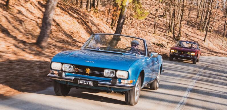 Peugeot 504 Coupe и Cabriolet (1969-1983) – видео