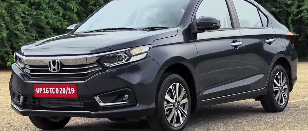 Honda Amaze доби фејслифтинг (видео)