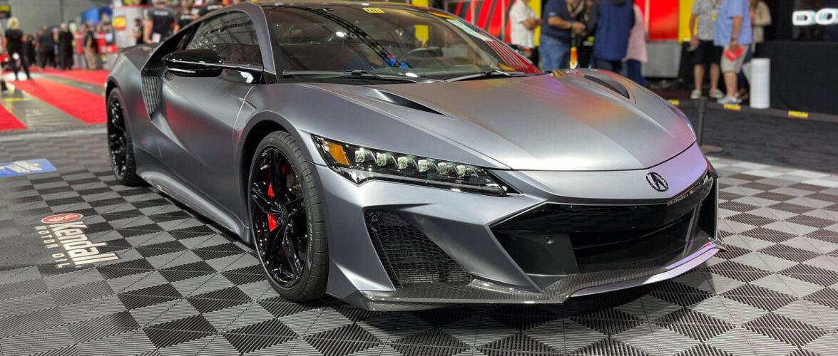 Honda NSX Type S (видео)
