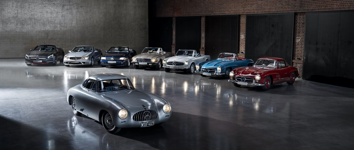 Mercedes SL, кратка историја