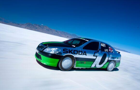 Најбрзата Škoda на светот (видео)