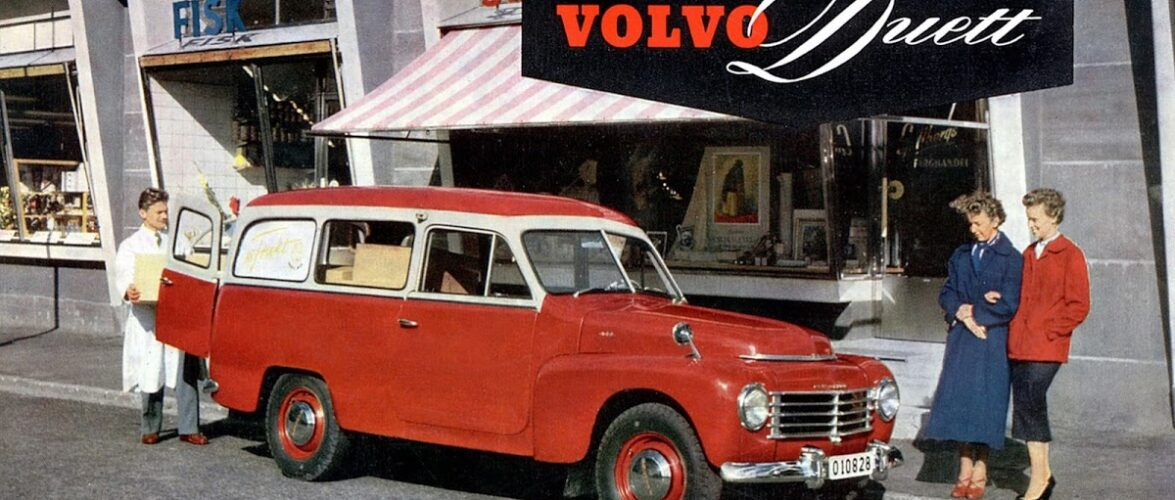 Volvo Duett (1953-1969) видео