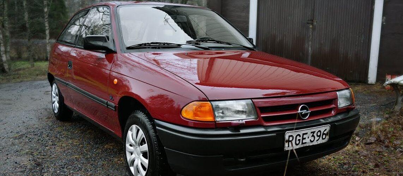 30 години Opel Astra (доооолго видео од Тајван)