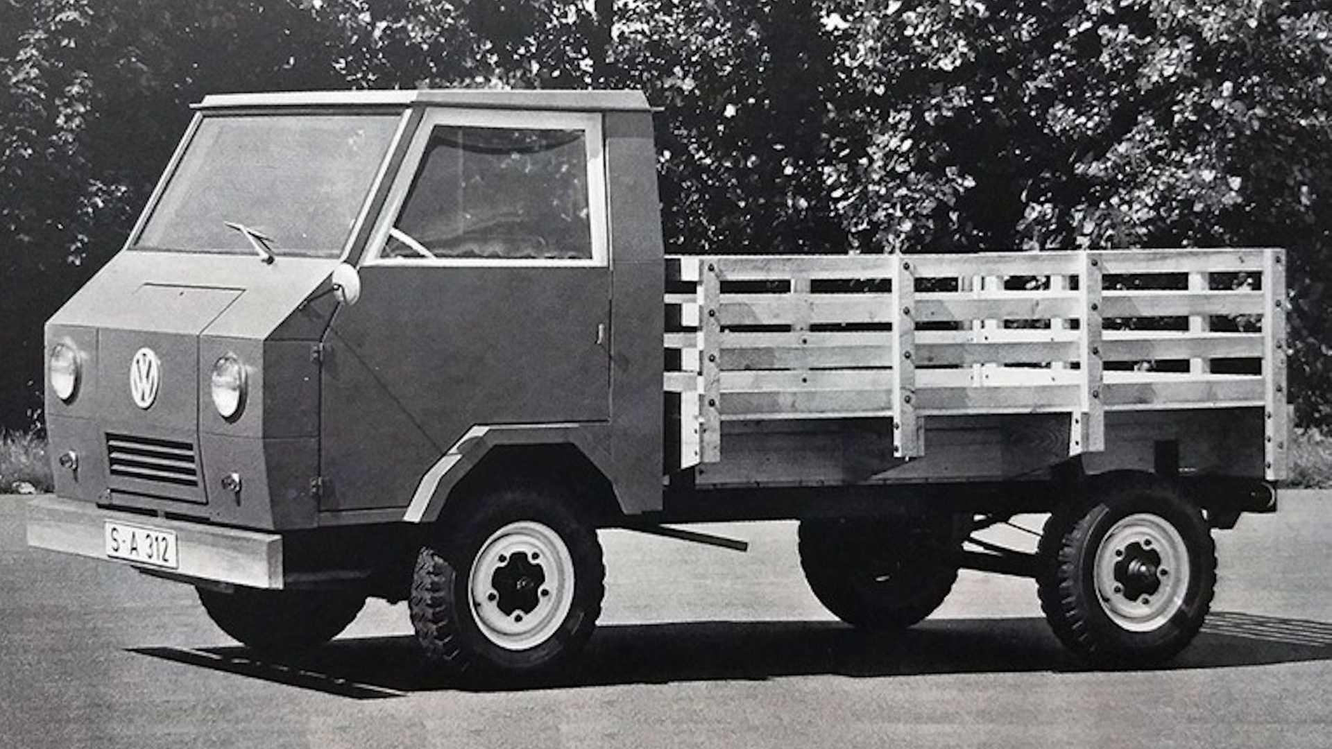 Volkswagen EA489 Basictransporter (1975-1979)