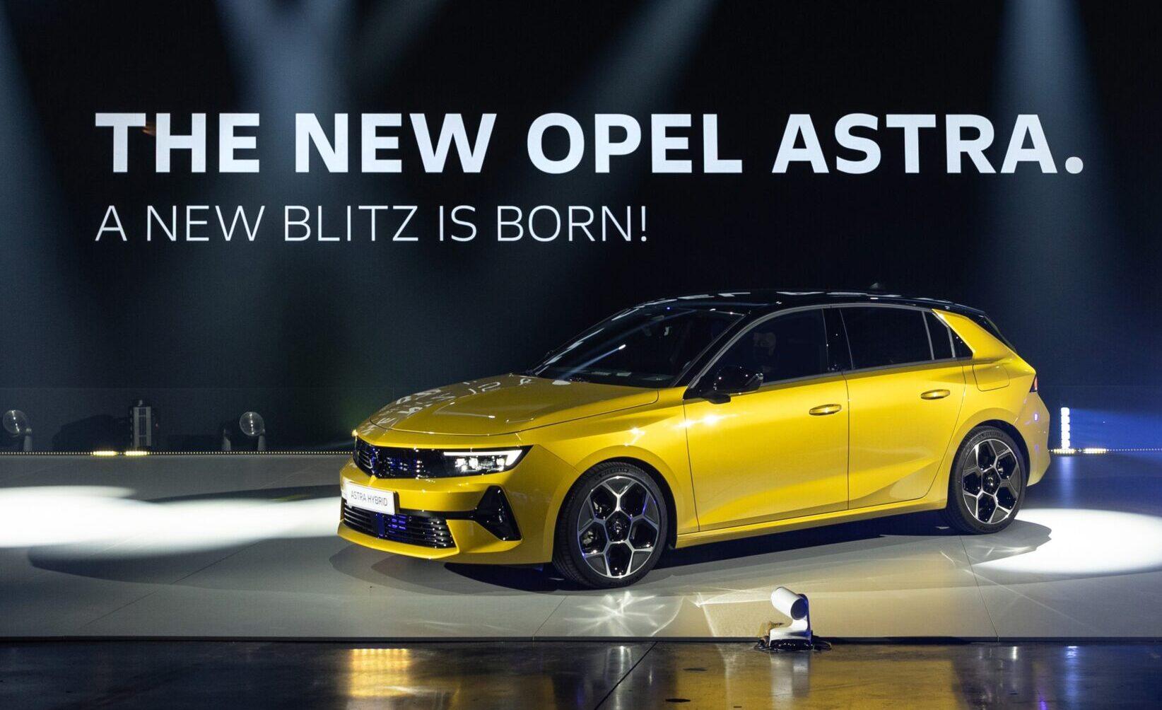 Бензин, дизел, плаг-ин хибрид, струја: Opel Astra 6-та генерација (2*видео)