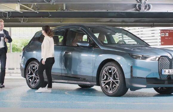 Вака BMW ја гледа иднината (видео)