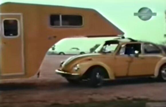 Видео: 5th Wheel кампер за VW Буба